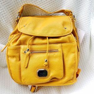 New Tyler Rodan Mustard Yellow Mini Backpack Bag